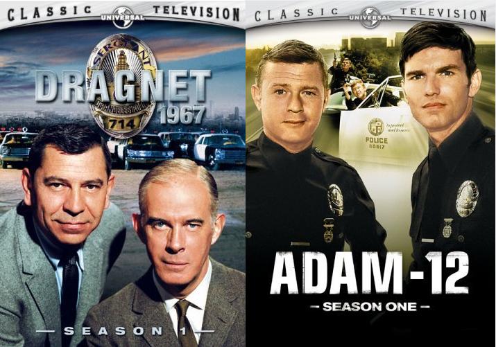 Dragnet & Adam 12 Posters