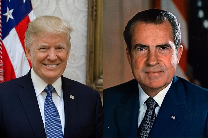 Donald Trump & Richard Nixon